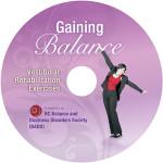 Gaining Balance Rehabilitation Exercises DVD