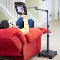 levo floor stand for ipads, tablets and ereaders